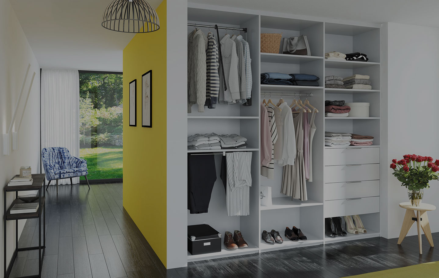 Conception de dressing sur mesure